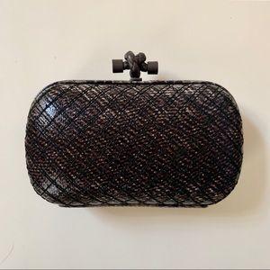 Bottega Veneta Knot Clutch bag purse evening